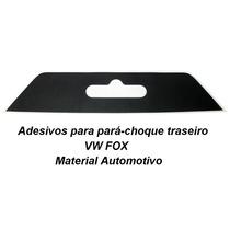 Adesivo Vw Fox Parachoque Adesivo At. Placa Est. Rock In Rio
