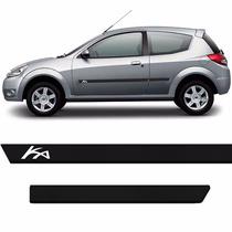 Friso Do Ford Ka Personalizado Preto Novo
