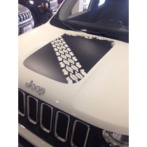 Adesivo Capo Jeep Renegade 2015 Produto Original Acessório