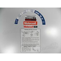Kit Adesivos Etiquetas Motor Ford Maverick - Decalx