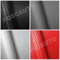 Adesivo Fibra De Carbono P/ Carro - 1m X 30cm - Frete Gratis
