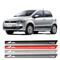 Kit Mod2 Adesivo Lateral Faixa Para Vw Fox 2012/