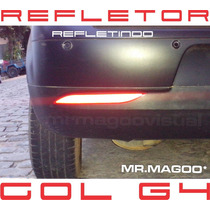 Refletor Para-choque Traseiro Gol Geração 4 G4+ Frete Grátis