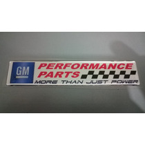 Emblema Gm Performance Corsa Astra Vectra Chevette Opala