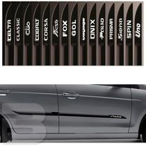 Friso Lateral Personalizado Fiat Palio 4 Portas - Tg Poli