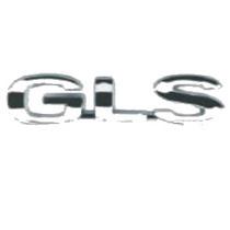 _emblema Modelo Gls Vw Cromado + Mercado Pago Cod:828287373