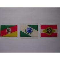 Todas As Bandeiras Da Região Sul Do Brasil 6x4cm - Bre