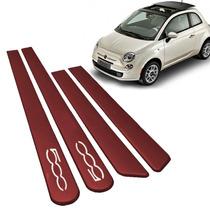 Friso Lateral Fiat 500 Vermelho Brilhante