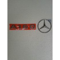 Emblema Tampa Traseira Classe A, A160 + Estrela Mercedes