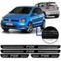 Jogo Soleira Resinada Volkswagen Fox 4 Portas 2005/...