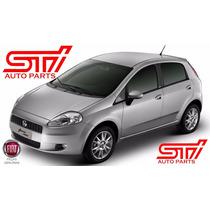 Kit 2 Moldura Acabamento Parabrisa Fiat Punto - Original