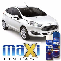Tinta Spray Automotiva Ford Branco Artico + Verniz 300ml
