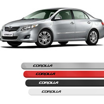 Friso Lateral Corolla 08 09 10 11 2012 2013 Todas As Cores !