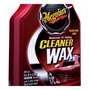 Cera Cleaner Wax Liquida Meguiars 473ml - A1216 + Brinde