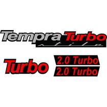 Vendo Kit De Adesivos Emblemas Resinados Tempra Turbo Stile