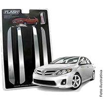 _kit Friso Parachoque Corolla Cromado 4p + Mp - Flash