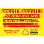 Kit Adesivos New Holland 8055 - Decalx