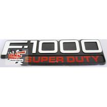 Emblema F-1000 Super Duty - Mmf Auto Parts.