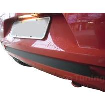 Adesivo Preto Fosco P/ Parachoque Traseiro Vw Fox 2010/