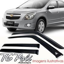 Calha Defletor De Chuva Chevrolet Corsa Pickup 94/00 Tg Poli
