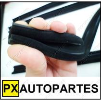 Canaleta Borracha Vidro Porta Ecosport Kit 4 Peças