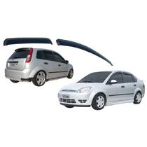 Calha De Chuva Fiesta Hatch Ou Sedan 02/11 Ou Rocan Tg Poli
