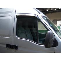 Calha De Chuva/defletor De Chuva Para Renault Master Tg Poli