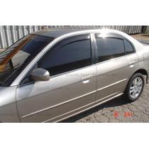 Calha De Chuva Honda Civic 4 Portas - 28.001