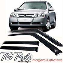 Calha Defletor De Chuva Astra Hatch Sedan 4 Portas - Tg Poli