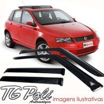 Calha Defletor De Chuva Fiat Stilo 08/11 - 4 Portas Tg Poli