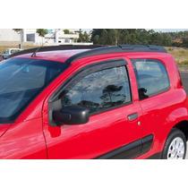 Calha De Chuva Fiat Uno Novo 2011/2014 Fiorino 2014 2 Portas