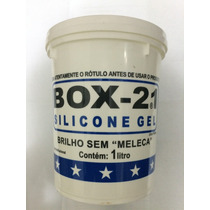 Silicone Gel Box 21 Para Carros Plásticos E Couro 900gr