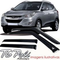 Calha Defletor De Chuva Hyundai Ix35 2011 / 2014 - Tg Poli