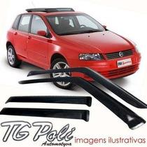 Calha Defletor De Chuva Fiat Stilo 03/07 - 4 Portas Tg Poli