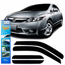 Calha De Chuva Para New Civic 07 08 09 10 11 Hd7676 4 Portas
