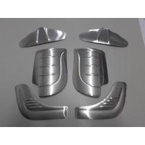 Kit Polainas E Borboletas P/ Fusca De Alumínio Sem Orelha