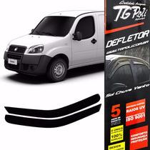 Calha Defletor Chuva Fiat Doblô 01/16 2p - Tg Poli