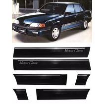 Friso Lateral Monza Classic 85/87 4p Largura 15cm Preto