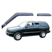 Jogo 4 Calhas De Chuva Chevrolet Blazer 95 Até 2011 4p