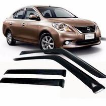 Calha Defletor Chuva Nissan Versa 11/15