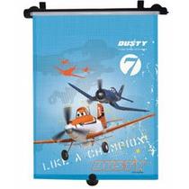 Protetor Solar Retrátil Para Vidro De Carro Avião Disney