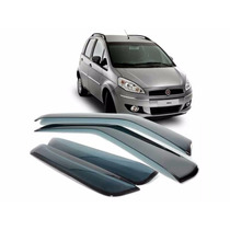 Calha De Chuva Defletora Tg Poli Fiat Idea 2005/2015 4portas