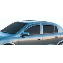 Jogo 4 Calhas De Chuva Chevrolet Astra Hatch 2003 Até 2011