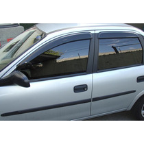 Calha De Chuva Tg Poli Corsa Hatch/wagon/sedan/classic 94/13