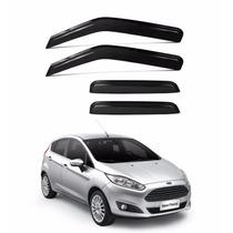 Calha De Chuva Defletor New Fiesta Hatch 4 Portas Original
