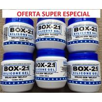 06 Silicone Gel Box 21 Carros Plásticos Couro - Super Oferta