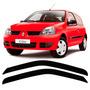 Calha De Chuva Defletor Renault Clio Fase 2 - 2 Portas