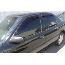 Jogo 4 Calhas De Chuva Chevrolet Vectra 93 Até 96 Fiesta Ha