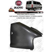 Paralama Direito Fiat Ducato (novo) Ano 2003 Até 2013