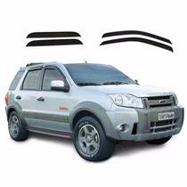 Calha De Chuva Defletora Tg Poli Ford Eco-sport 2003/2012 4p